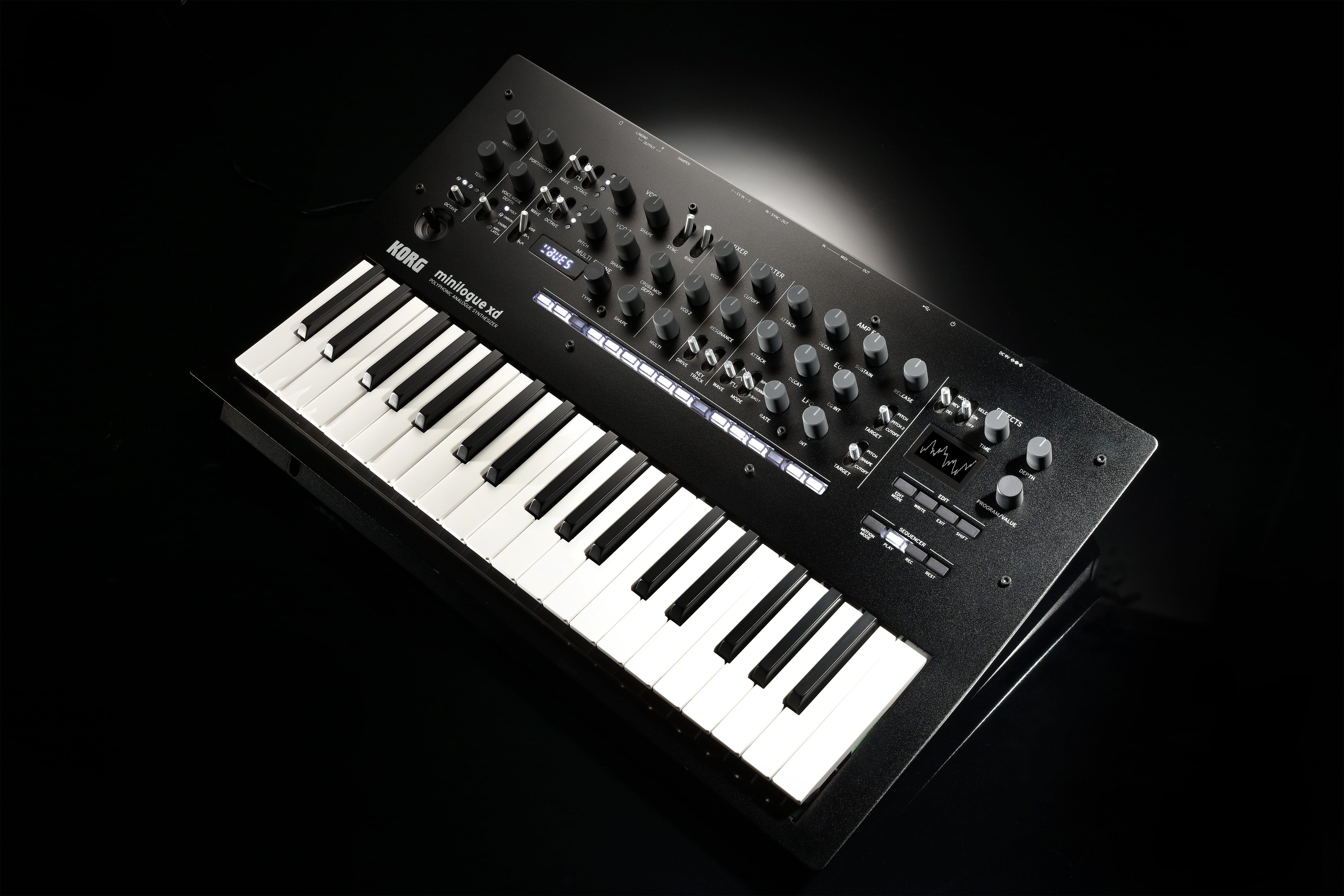 KORG's minilogue xd is a new 4-voice synth with the best of