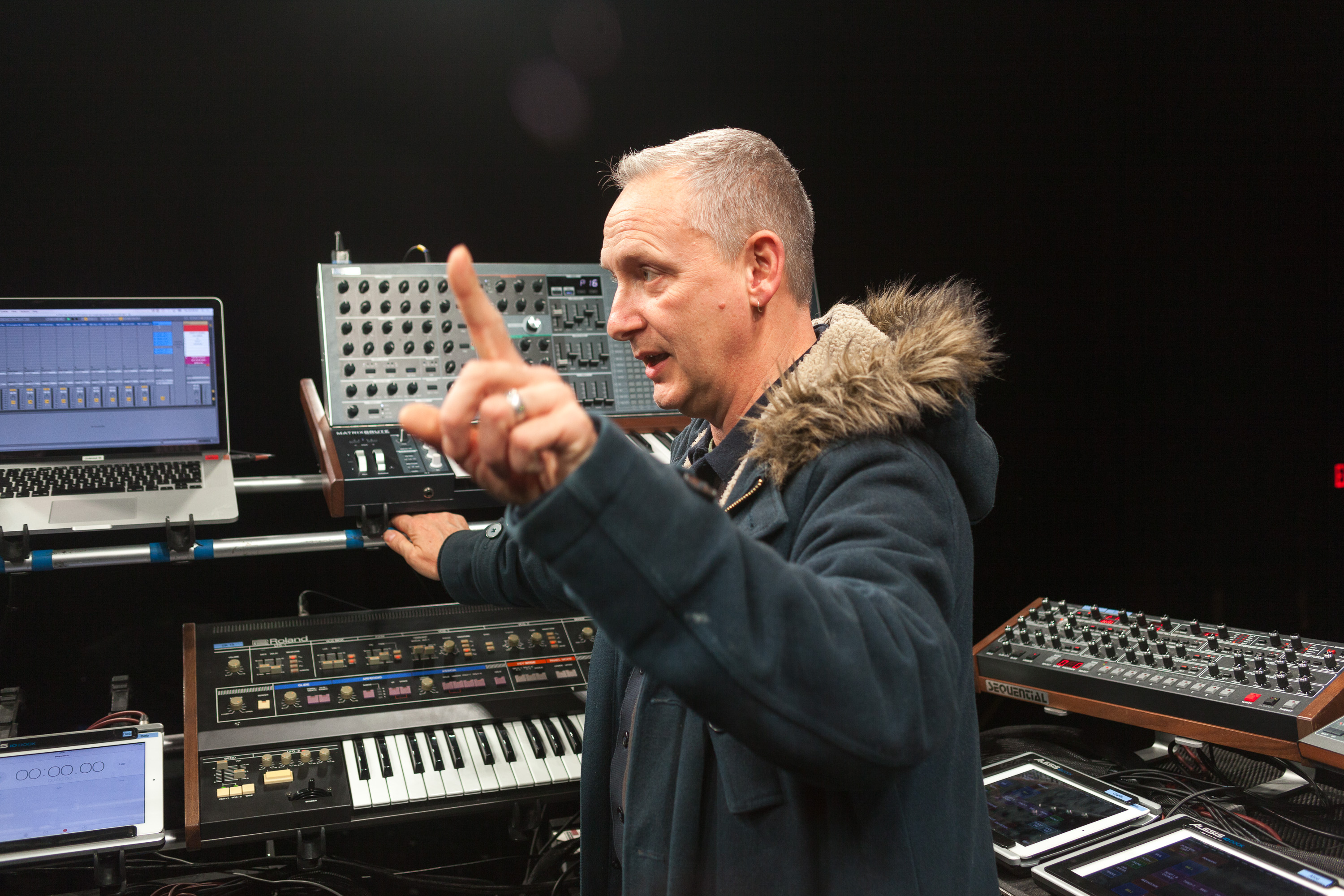 Like a studio onstage: Orbital tells us their live rig synth