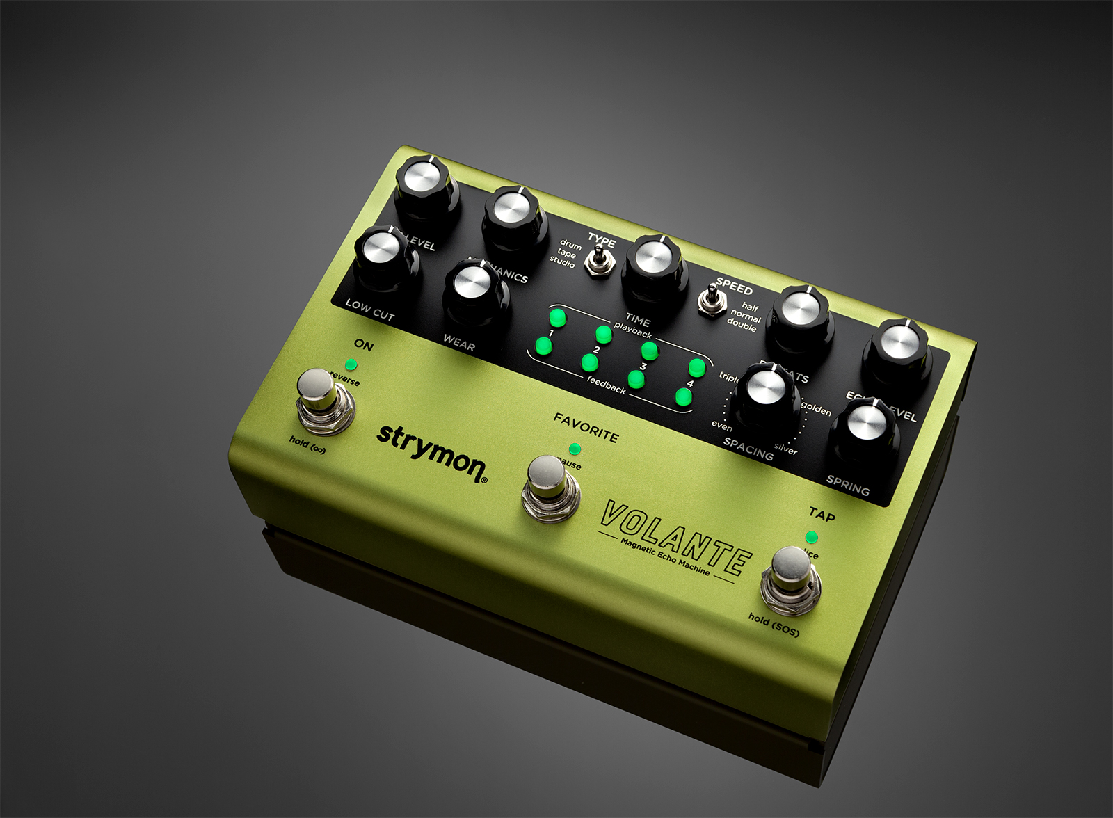 Strymon's Volante is a new, lush-sounding magnetic echo FX pedal