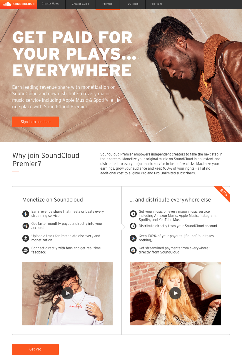 SoundCloud will now handle distributing your music - and