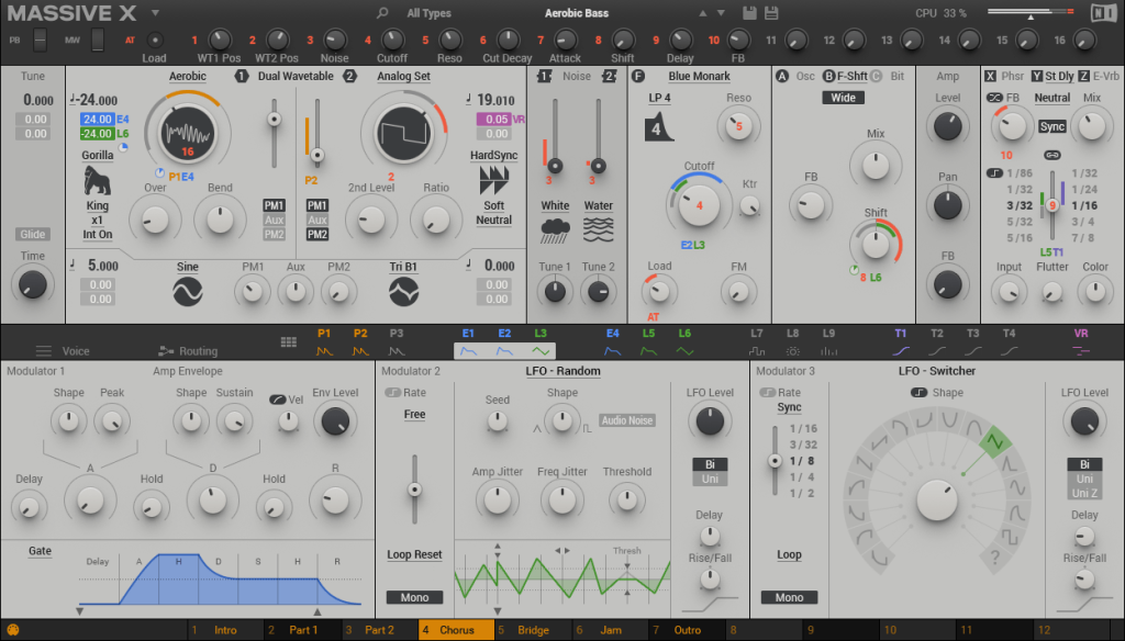 NI Massive X synth sees first features, interface revealed