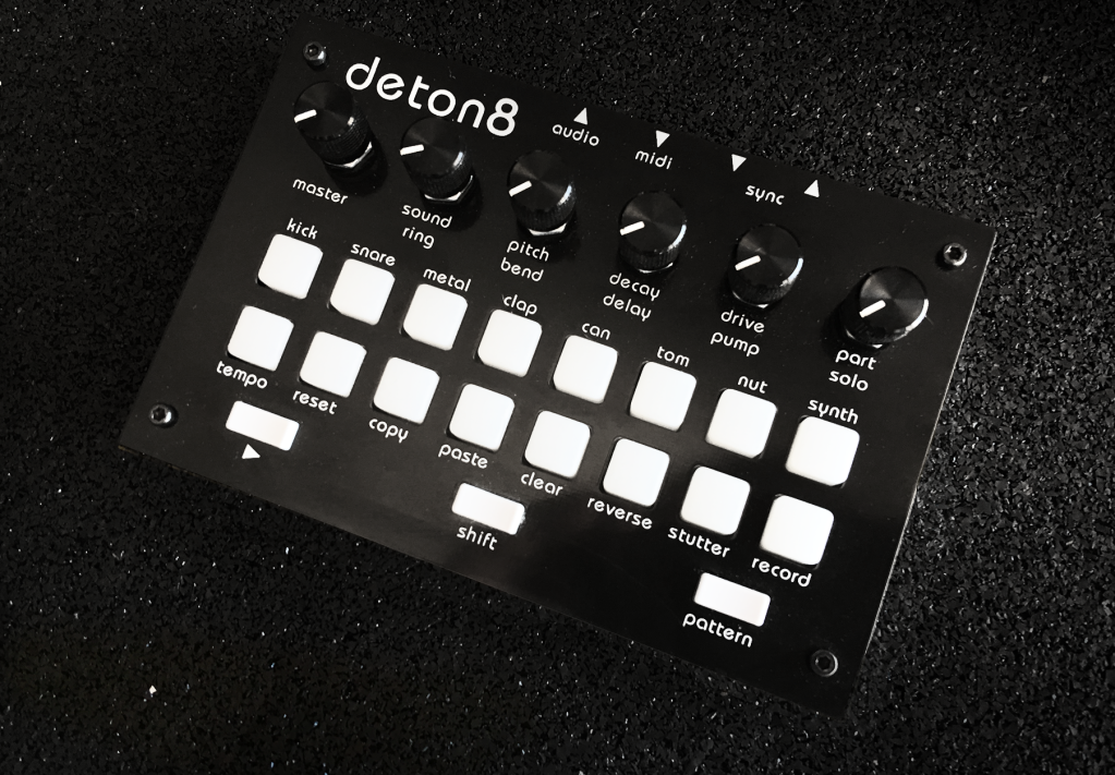 deton8 is a little drum machine with loads of soul cdm create digital music. Black Bedroom Furniture Sets. Home Design Ideas