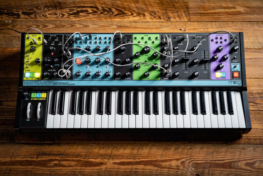 Moog Matriarch puts all your analog sound shaping in one