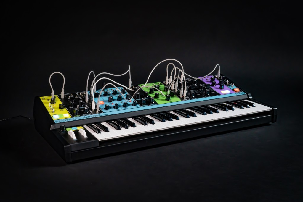 Moog Matriarch puts all your analog sound shaping in one keyboard