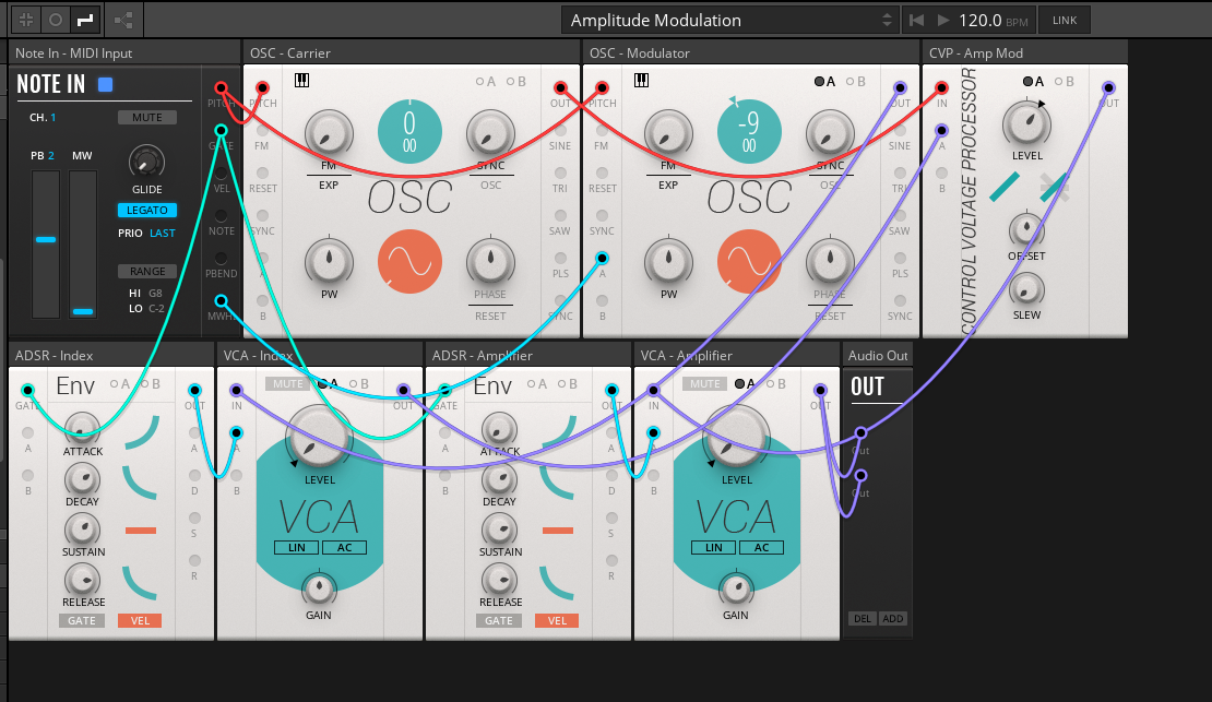 Reaktor adds front-panel patching, plus a modular you can use for