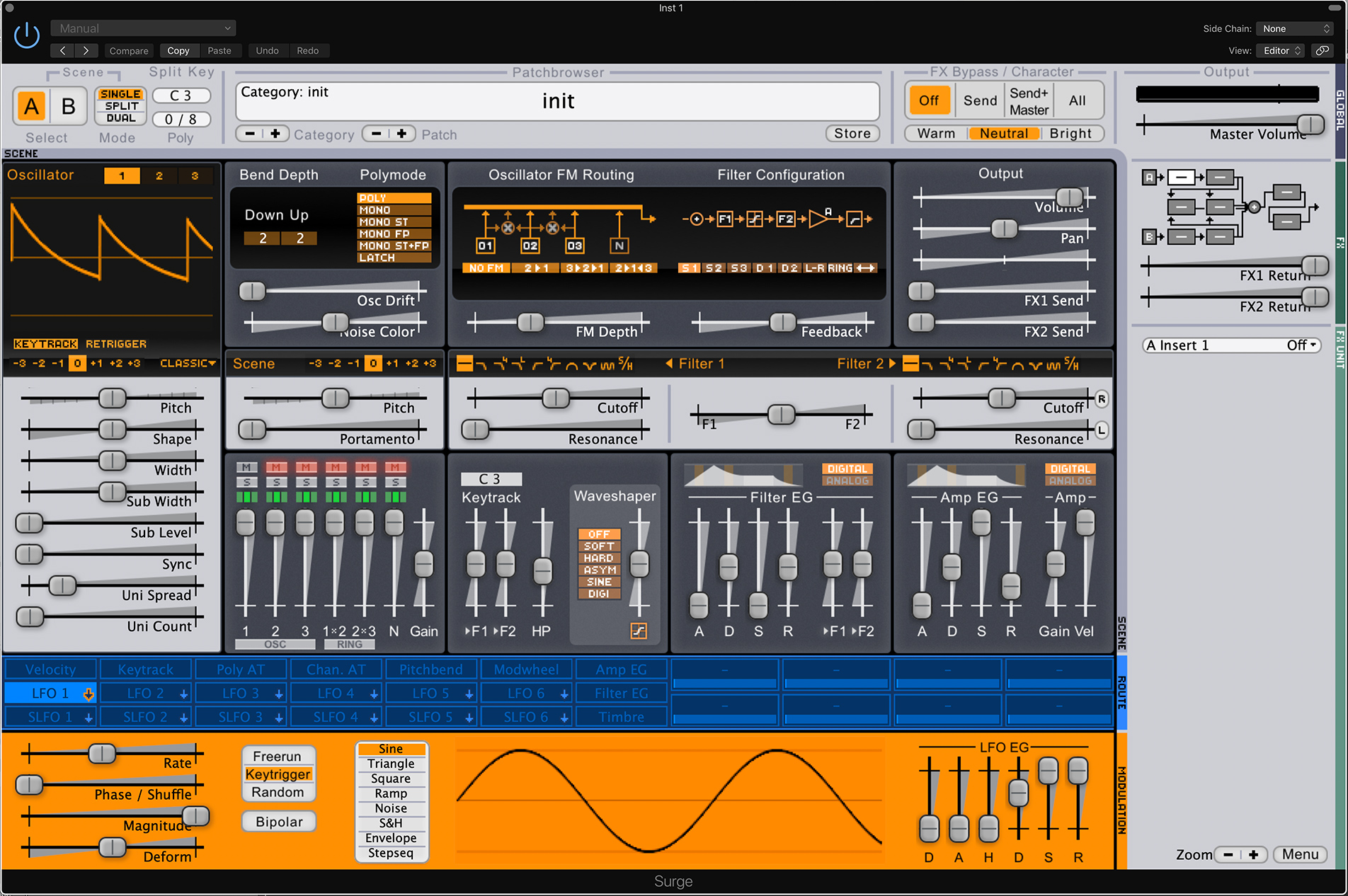 Surge is free, deep synth for every platform, with MPE support