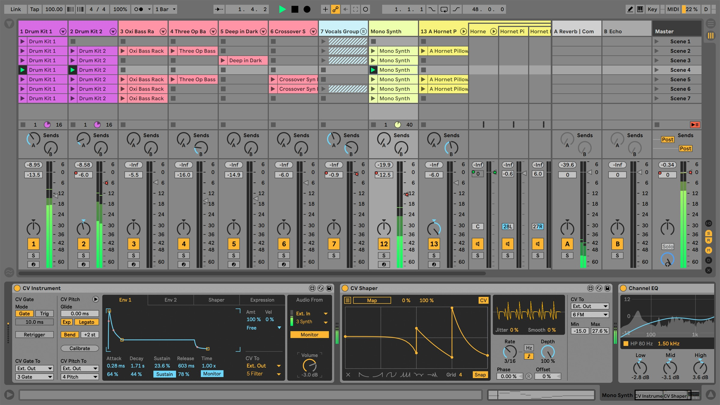 Ableton release free CV Tools for integrating with analog