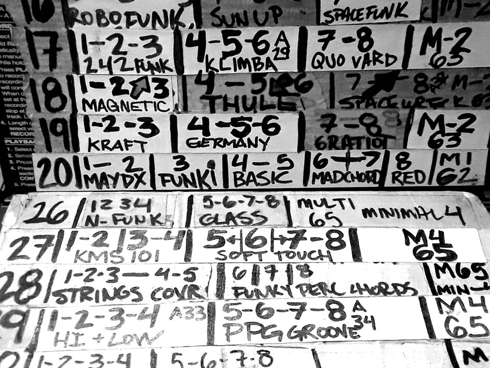 Post-album techno: 9 years of live sequence data, from Shawn Rudiman