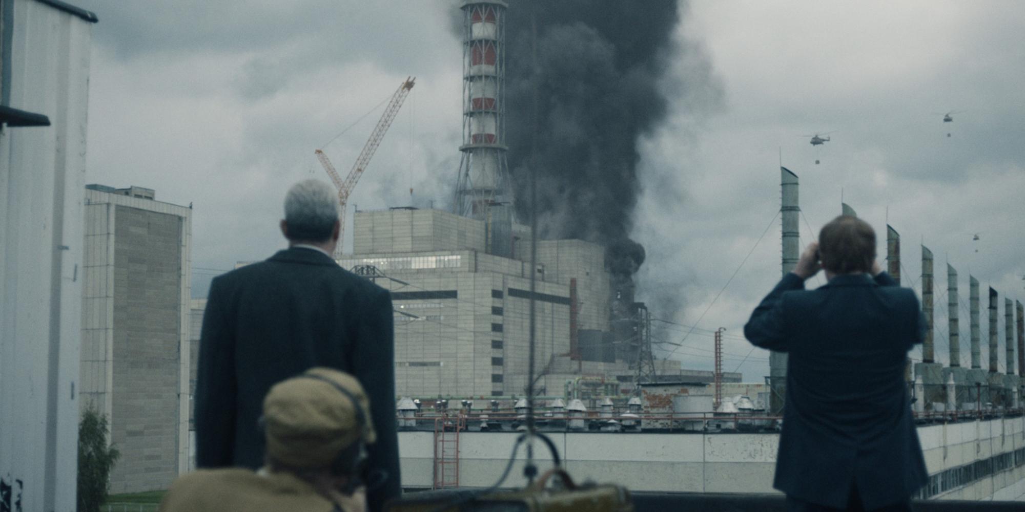 For 'Chernobyl' score, Hildur Guðnadóttir went to a nuclear power plant