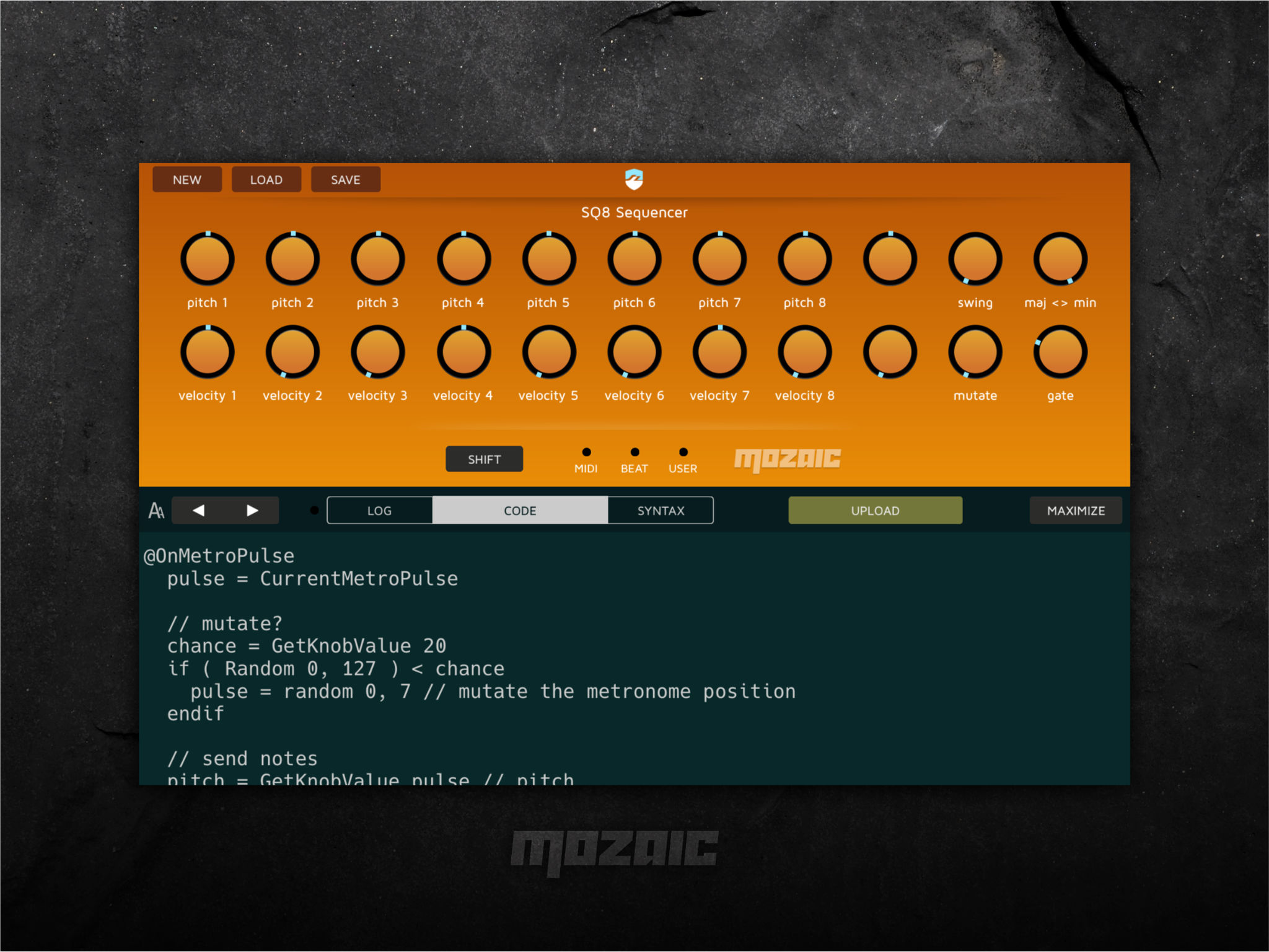 Turn your iPad or iPhone into a scriptable MIDI tool with Mozaic