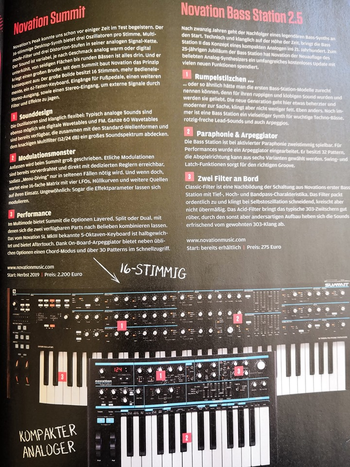Novation's super synth for Superbooth leaks: 16-voice Summit