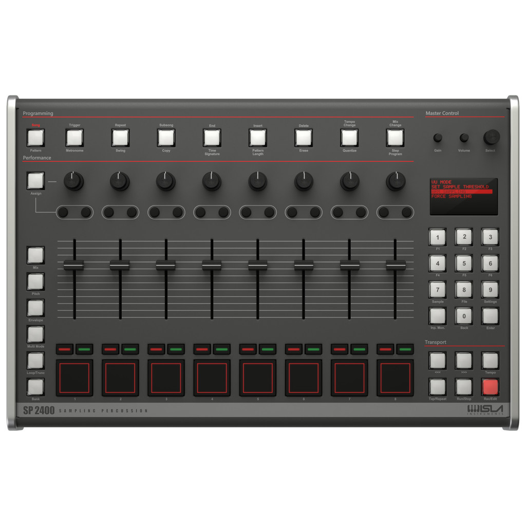 The E-mu SP-1200 sampler is getting a reboot: SP 2400