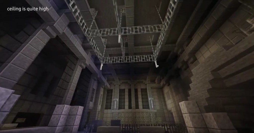 Someone built a strangely accurate Berghain in Minecraft