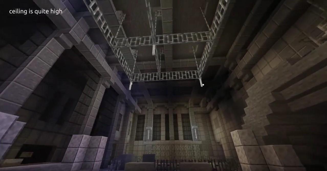 Pleasant Someone Built A Strangely Accurate Berghain In Minecraft Download Free Architecture Designs Scobabritishbridgeorg