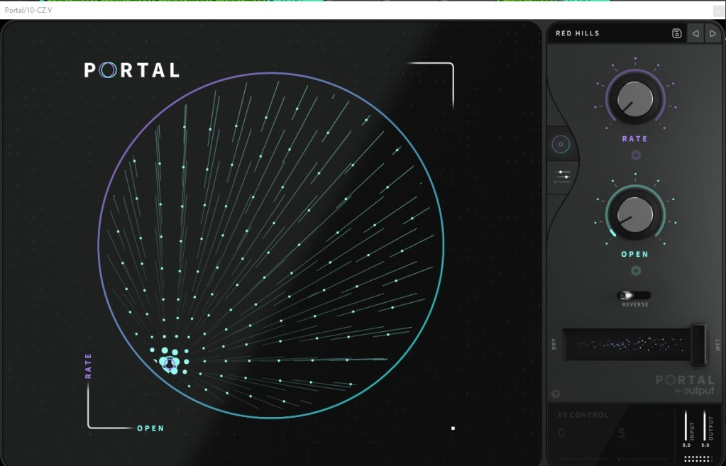 PORTAL from Output lets you navigate granular effect chaos