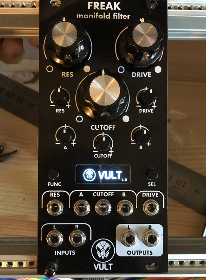 Crossover VCV Rack modular: Vult goes hardware, as Erica adds free software
