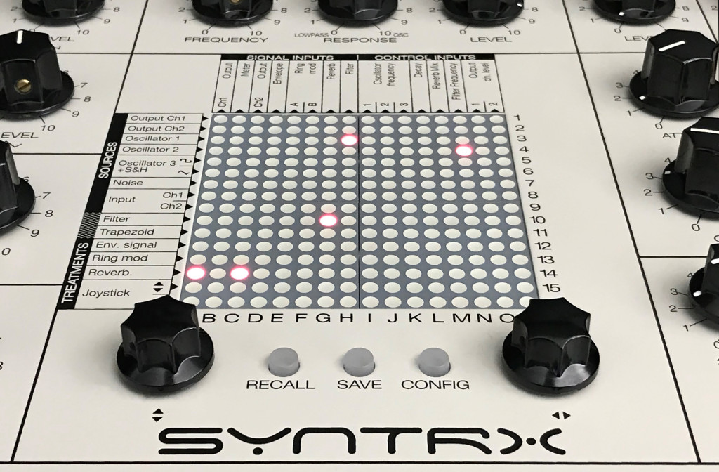 The spirit of Synthi is back, in the new Erica SYNTRX