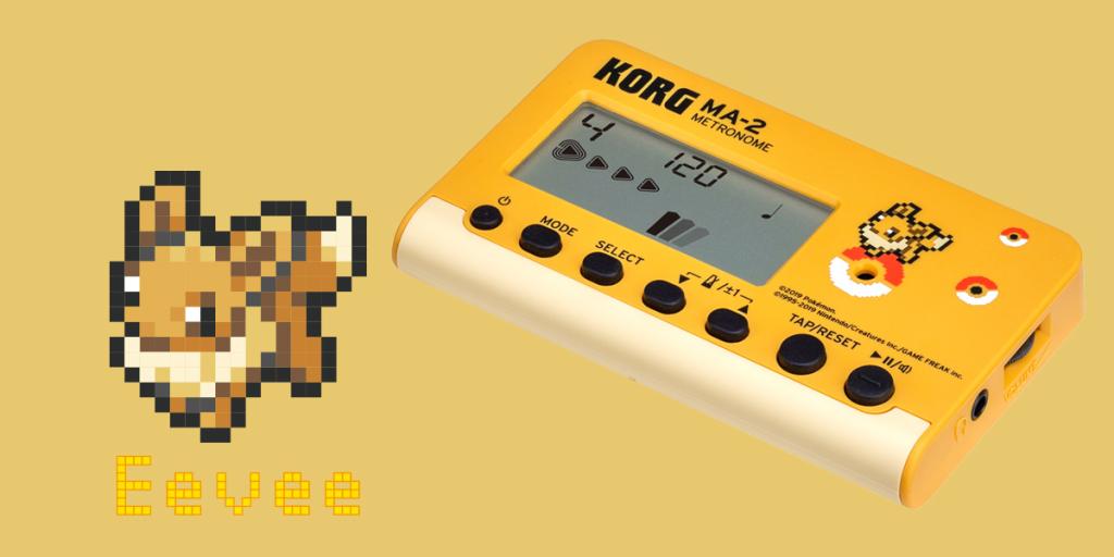 KORG are making Pokémon metronomes and tuners - CDM Create