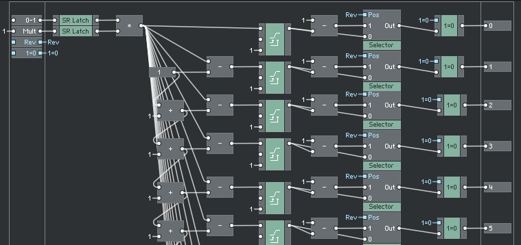 LiveCore is a free low level, live patching for Reaktor