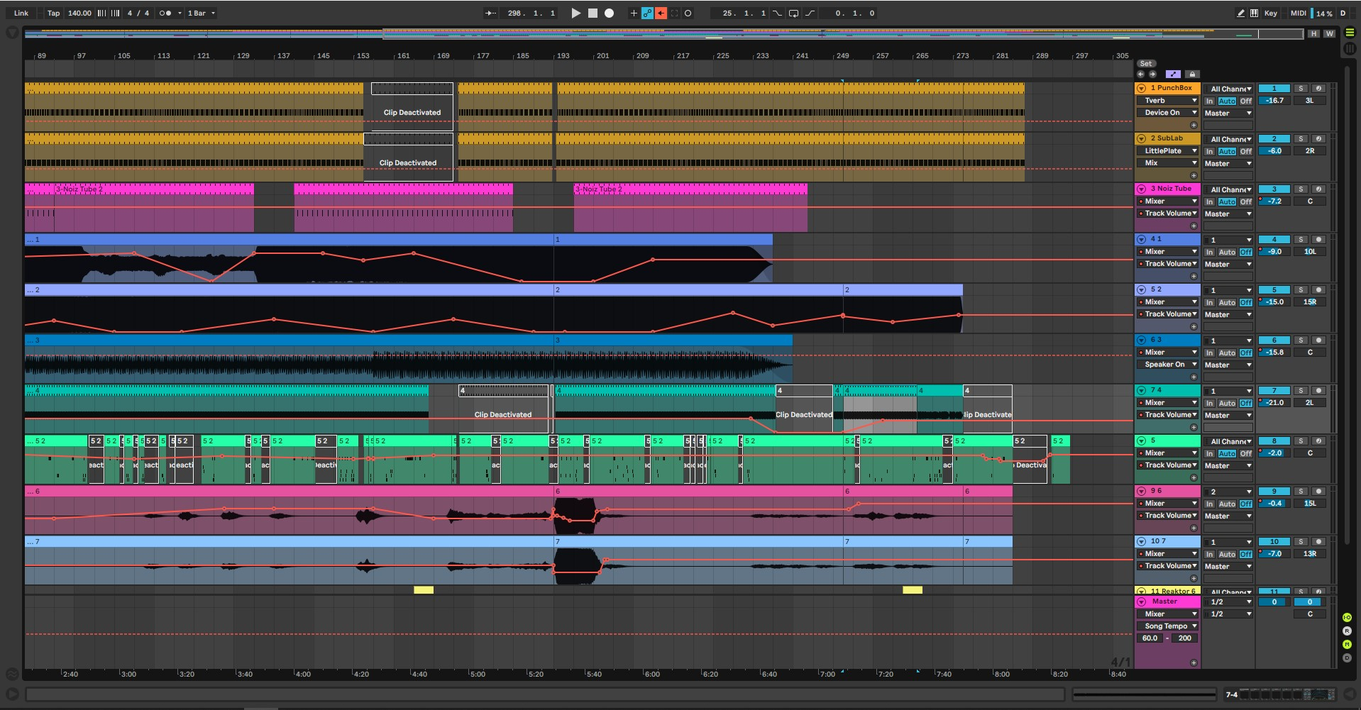 Finish music faster in Ableton Live 10 with these Arrangement View tips