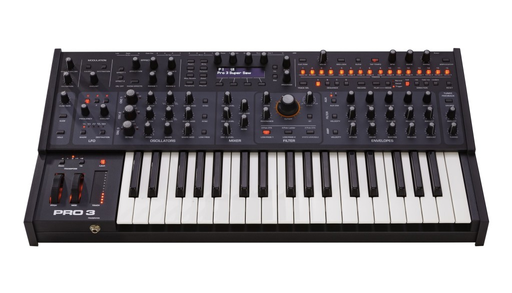 Sequential's Pro 3 is a new synth, while the others clone – so how does it stack up?