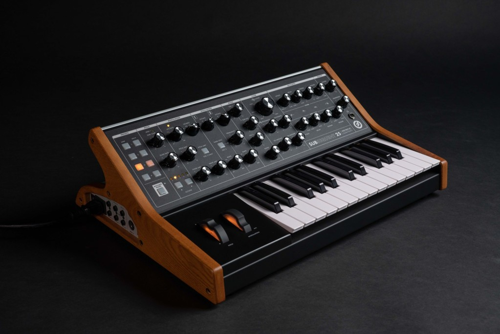 Moog's Subsequent 25 synth is here, and it's got an animated film to go with it