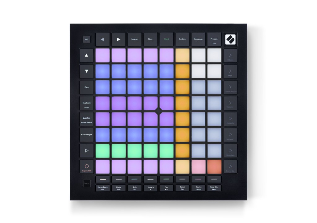 Novation's Launchpad Pro is grid and sequencer, for software or standalone for gear