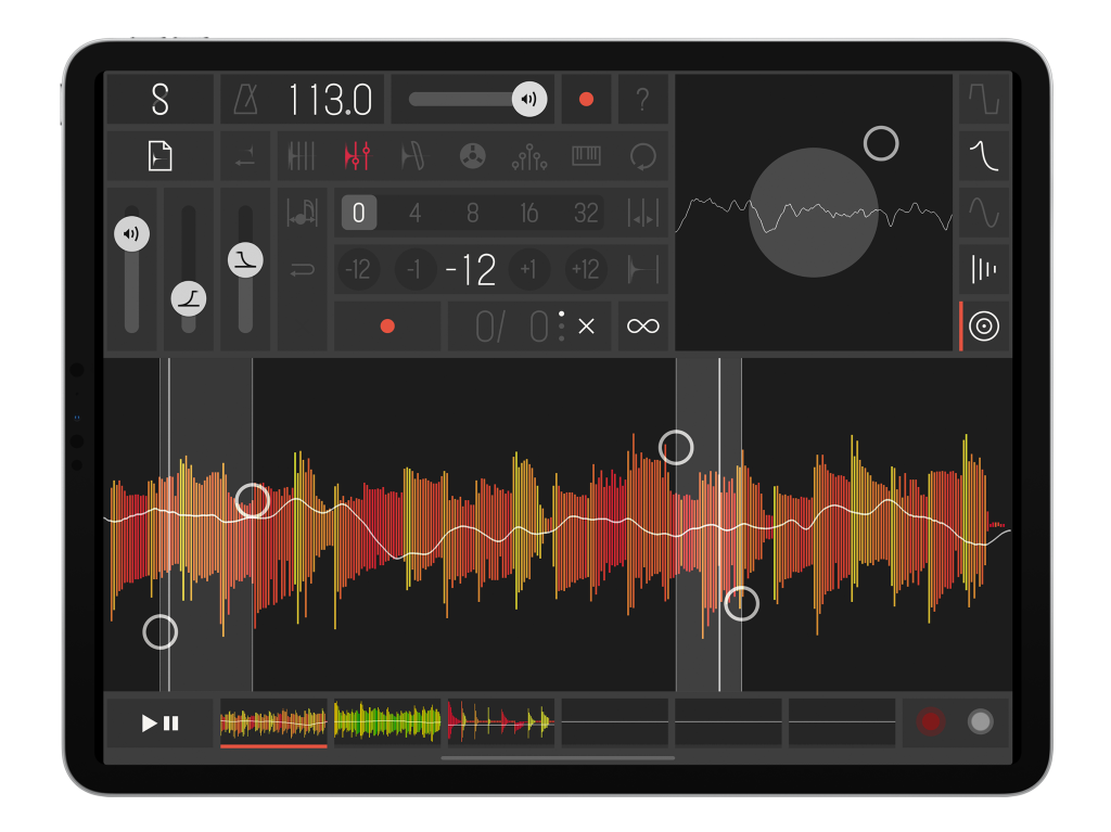 Samplr, the genius sampling app for iPad, is also getting a long-awaited update