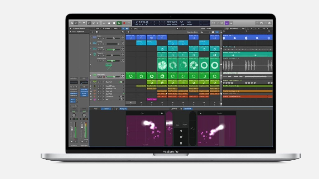 Did Apple just leak a new version of Logic with Ableton-style clip launching?