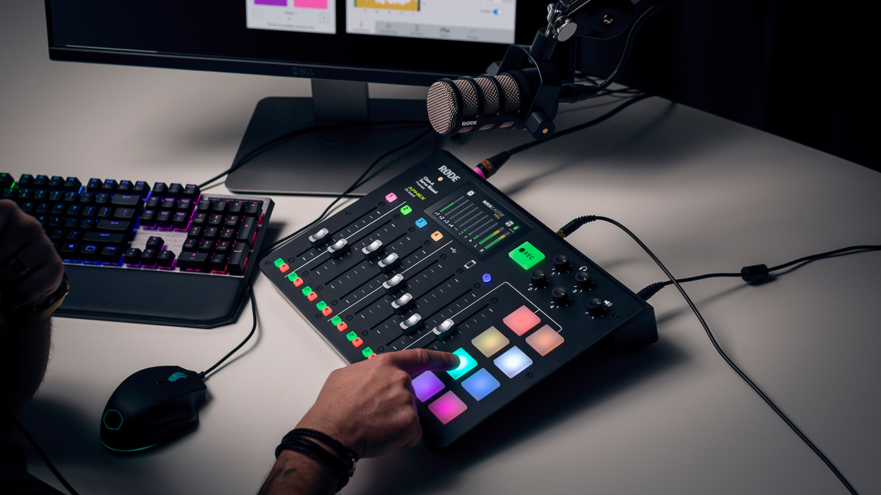 The RØDECaster Pro promises to pack a broadcast sound studio into a box - CDM Create Digital Music
