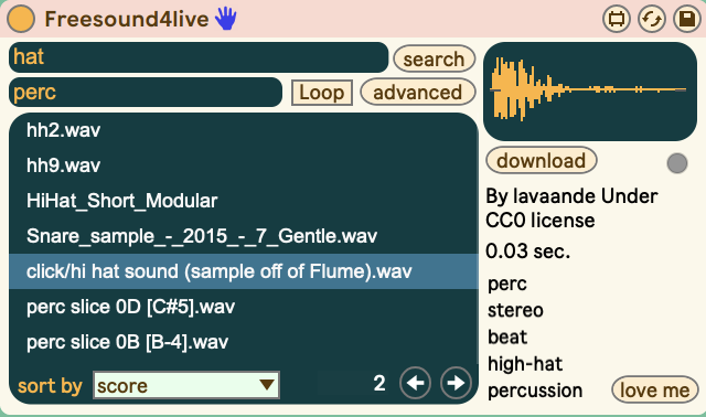 Free sounds and samples in Ableton Live, powered by commons and community - CDM Create Digital Music