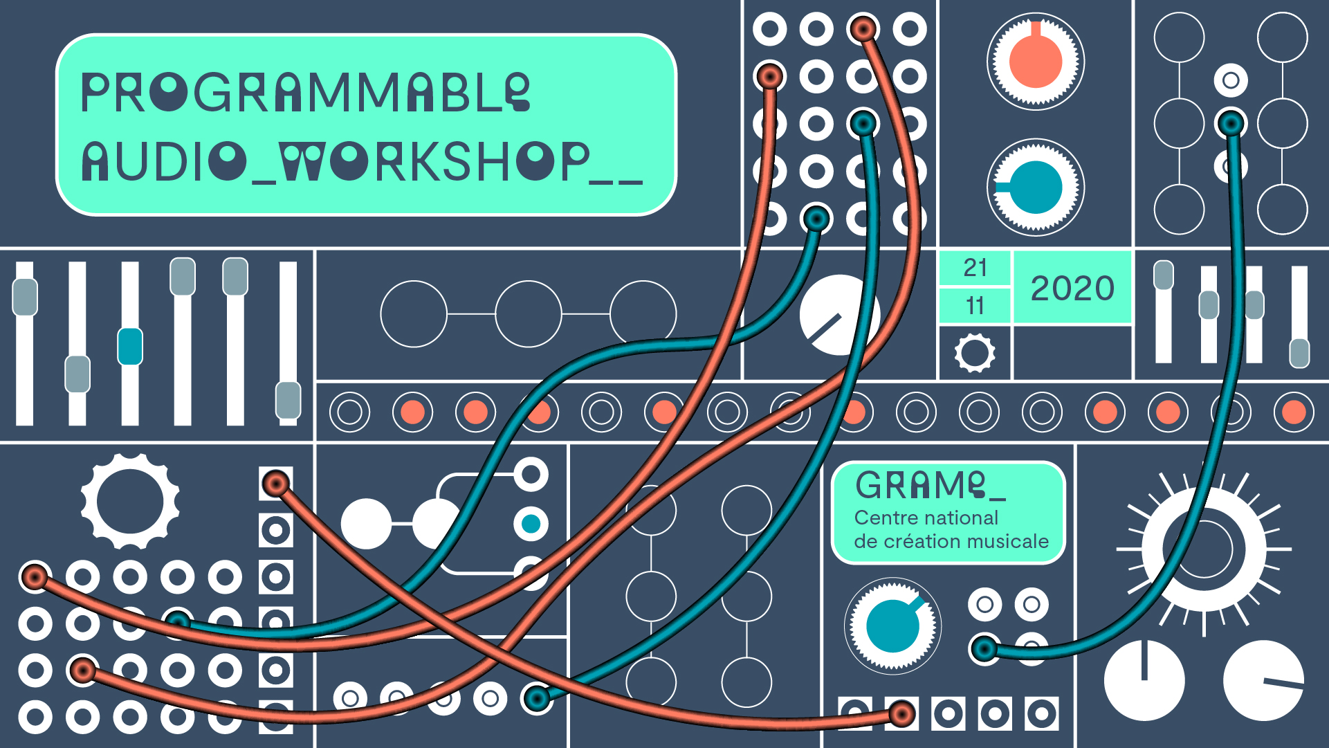 Watch a free program on modular audio synthesis and programming today - CDM Create Digital Music