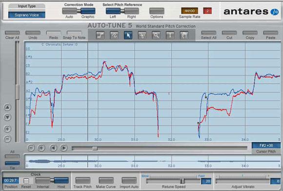 autotune 5 graphical input microtonal tunings pen tablet input rh cdm link Antares Audio Technologies Antares Autotune Pro