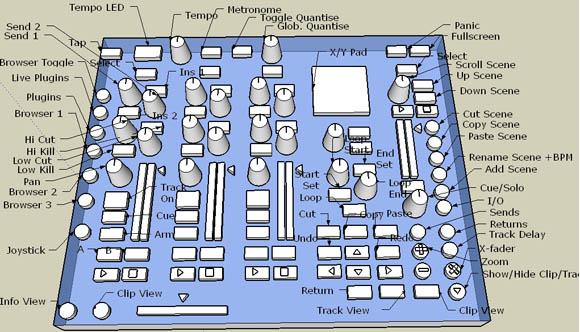 DIY Music Controller Designs, Drawn in Free SketchUp 3D Tool