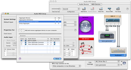 Mac OS X Tiger: Audio Improvements from Apple - CDM Create Digital Music