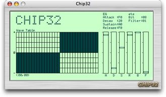 Chip32: Free Old-School Wavetable Synth, Now on Mac (Mac/PC) - CDM