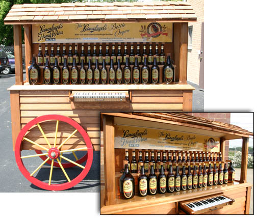 Peterson Beer Bottle Organ: MIDI + Keyboard Control - CDM