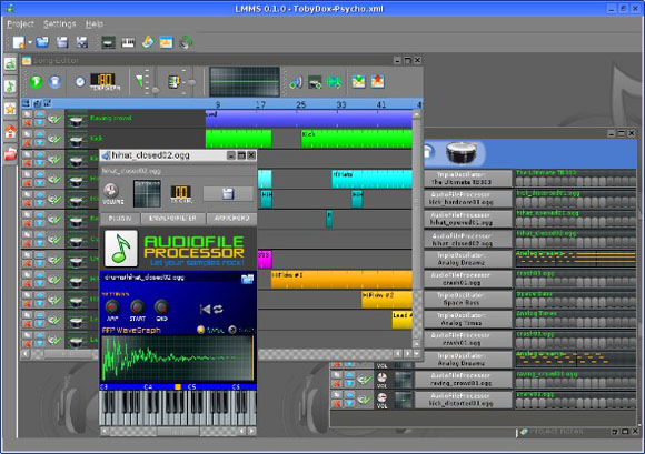 Linux Music: LMMS, Linux's Own